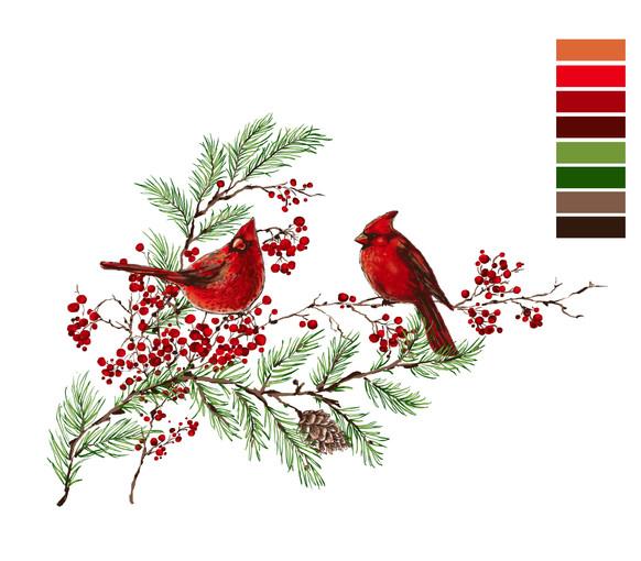HolidayRibbons_winterCardinal