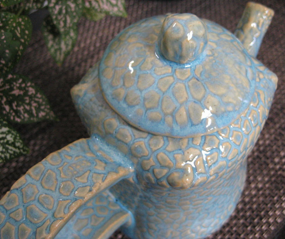 Tea Pot, Powder Blue