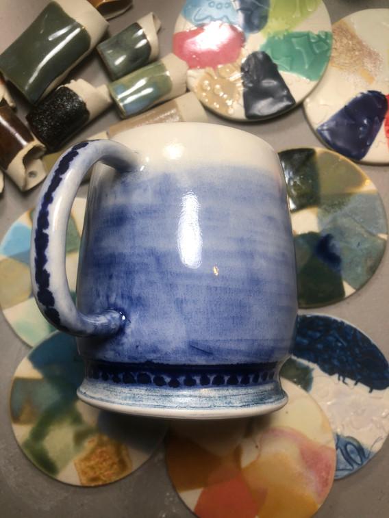 Blue Mug Cup