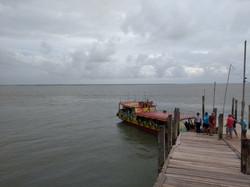 Trapiche do porto de Marudá