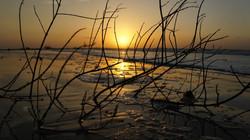 Pôr do Sol na praia do Tablado