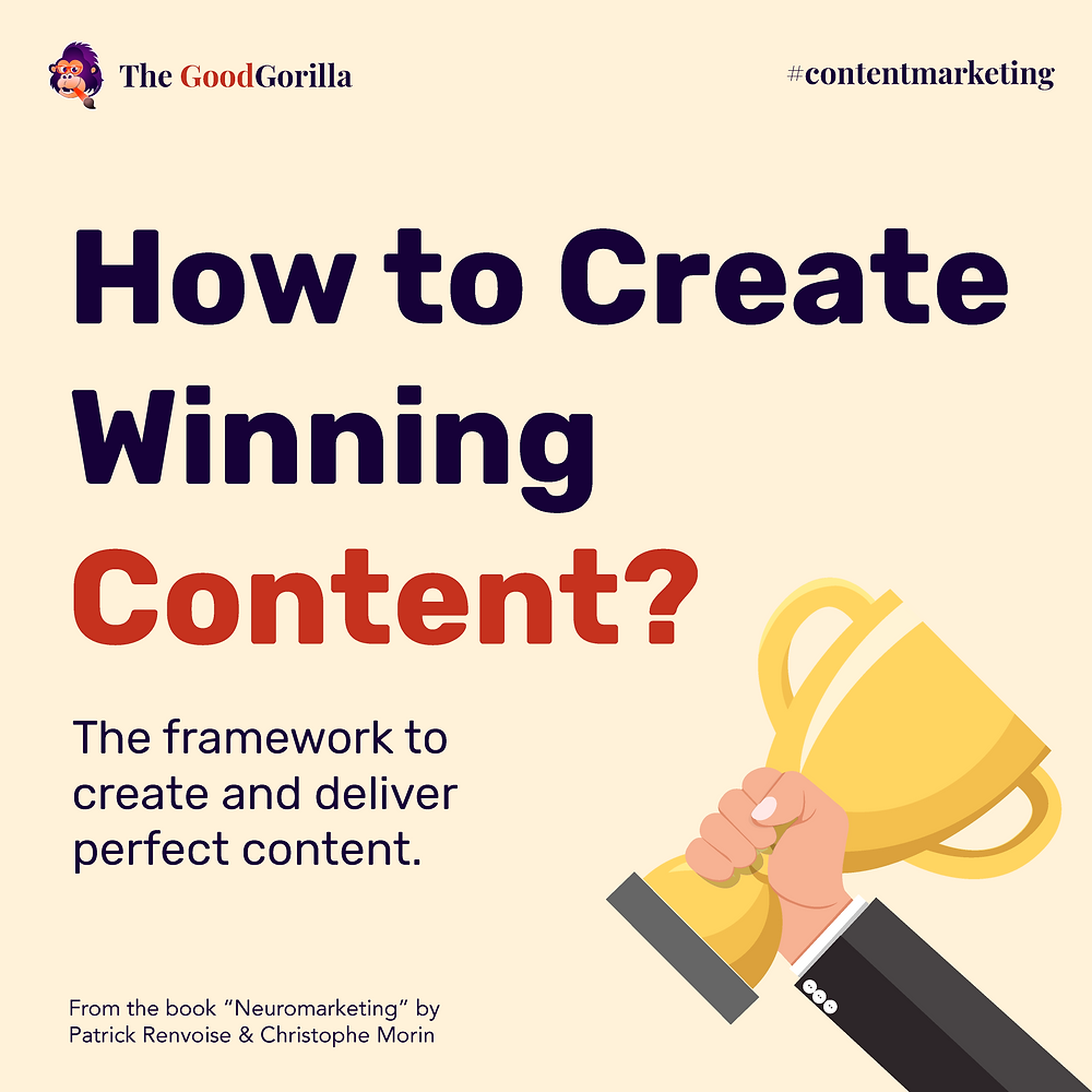 How to Create Winning Content? The framework to create and deliver perfect content that helps marketers connect with their prospects.