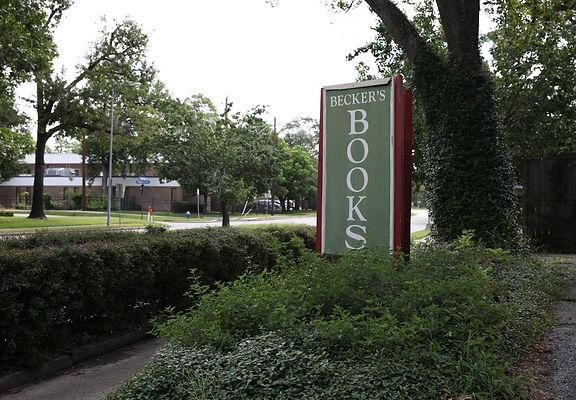 Becker's books in quaint neighborhood
