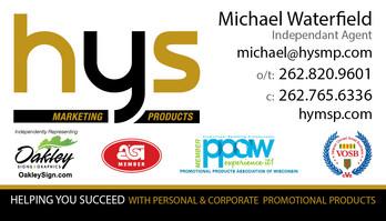 HYS business card idea