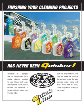 Quickline brochure front cover