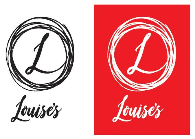 Louises Trattoria logo idea version 1