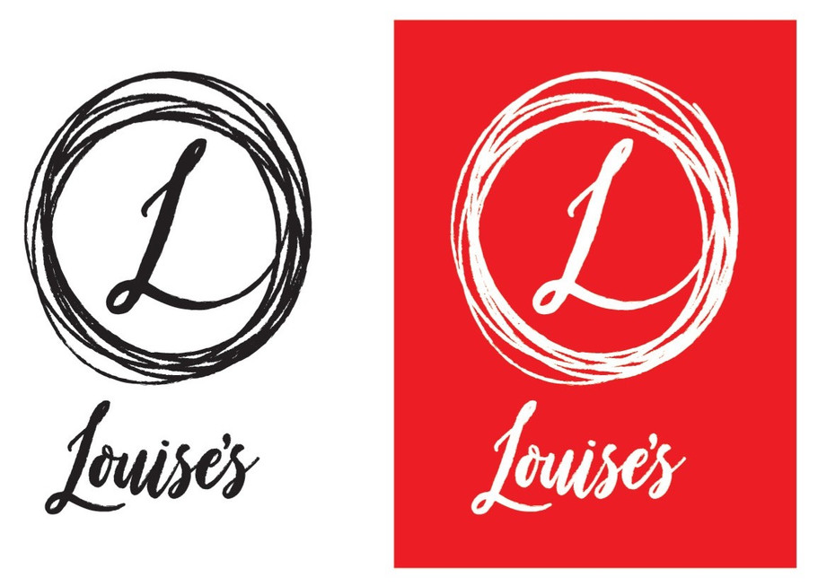 Louises Trattoria logo idea version 1