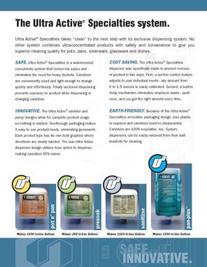 Ultra Active brochure inside pg1