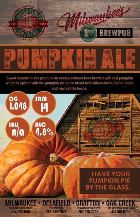 Pumpkin Ale beer poster