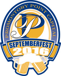2016 Promontory Point Septemberfest logo