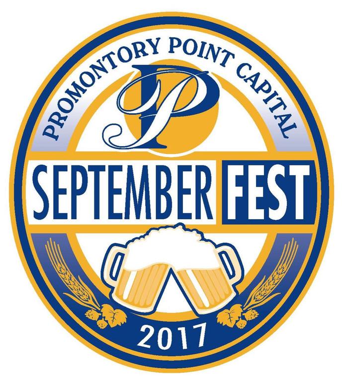 2017 Promontory Point Septemberfest logo