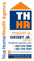 Truis Home Health Agency business card