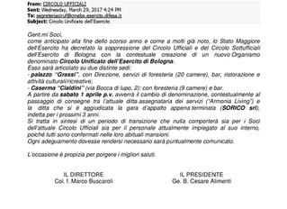 CIRCOLO UNIFICATO DELL'ESERCITO
