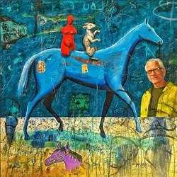 Der Blaue Horse Reiters