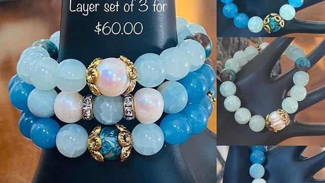 Blue Jade Stack