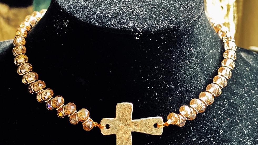 Dual wrap choker/bracelet