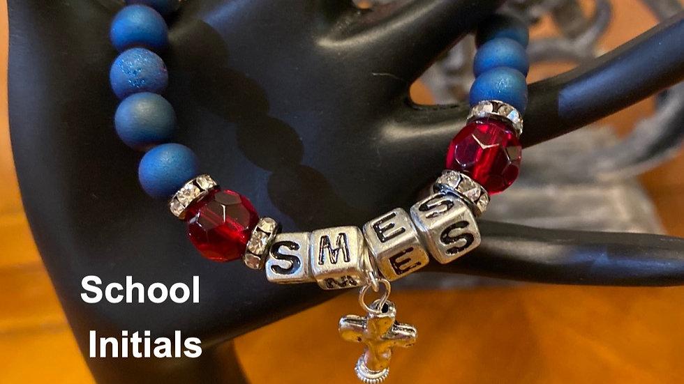 School Pride Stretch Bracelet