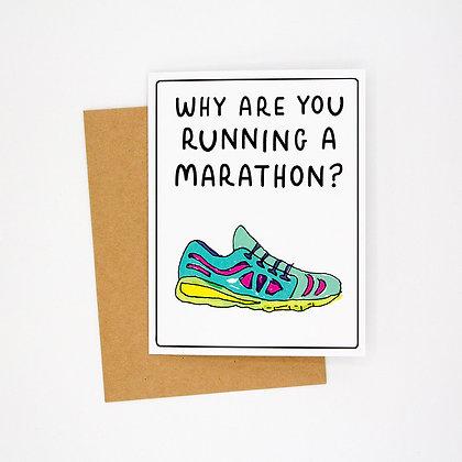 why a marathon card