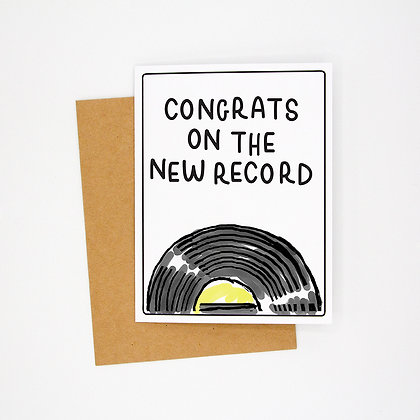 new record card