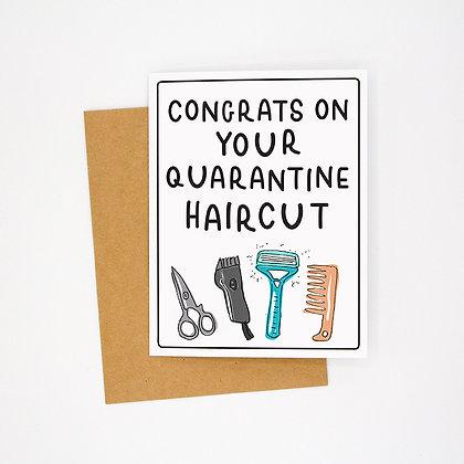 haircut card