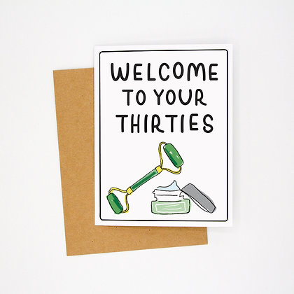thirties card