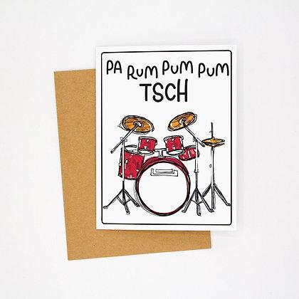 drumroll card