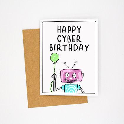 cyber birthday card
