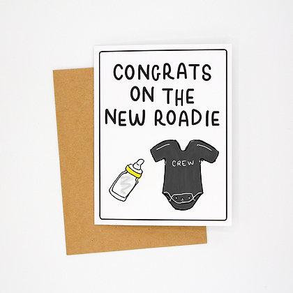 new roadie card