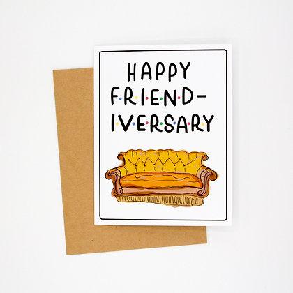 happy friendiversary card
