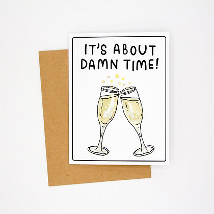 damn time card