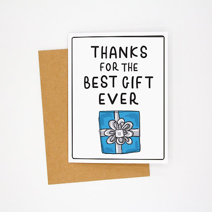 best gift ever card