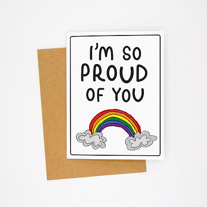i'm so proud of you card