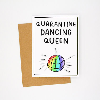 quarantine disco card