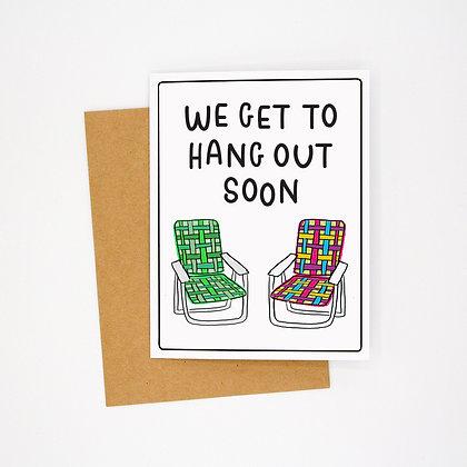 hang soon card