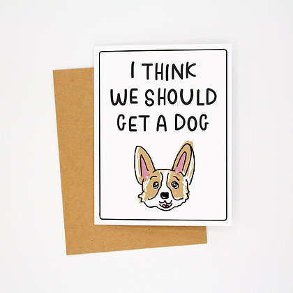 get a dog card