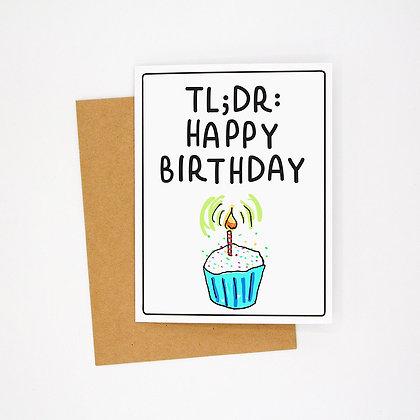tldr happy birthday card