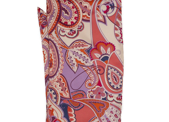 Powder Candy Neck Scarf Paisley