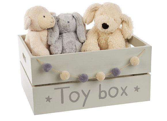 Grey Toy Box