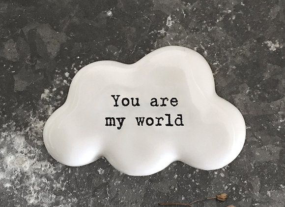 East Of India Cloud Token You Are My World