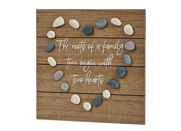 Family Pebble Plaque