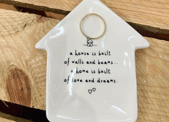 A house is built ring dish