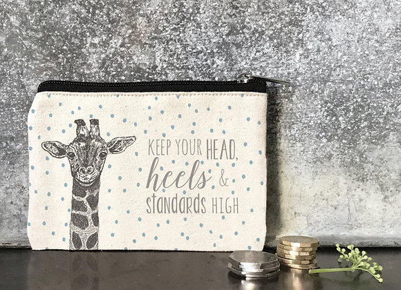 East Of India Keep Your Head High Purse