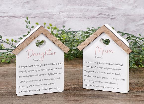Mum/Daughter House Block