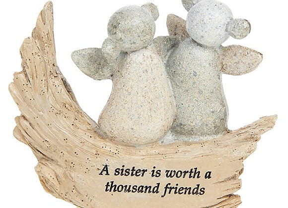 A Sister Is Worth Angel Stone