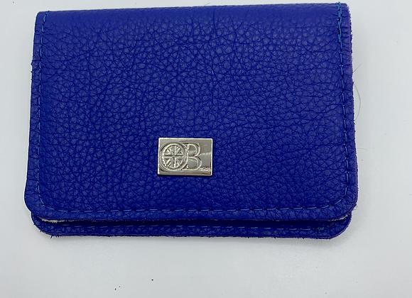 Card Wallet Owen Barry Cobalt Blue