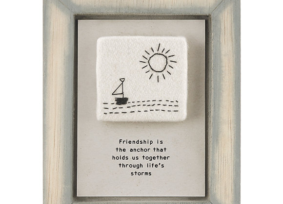 East Of India Embroidered Pic Friendship Anchor