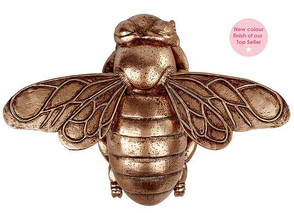 Bronze Gold Bee Ornament