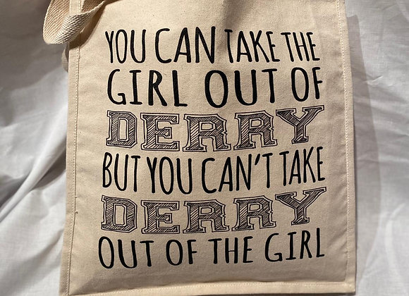 Derry Girl Canvas Shopper