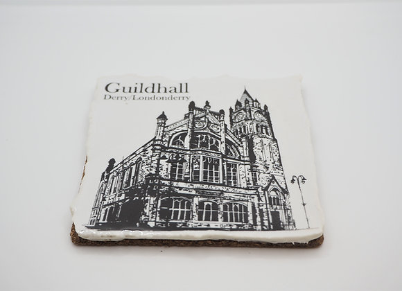 The Guildhall Coaster