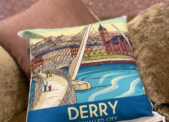 Derry The Walled City Cushion